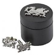 Welsh Dragon Cufflinks With Box
